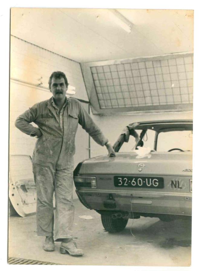 Oprichter Dick - na bijna 40 jaar nog steeds actief!